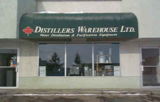 Distillers Warehouse front entrance
